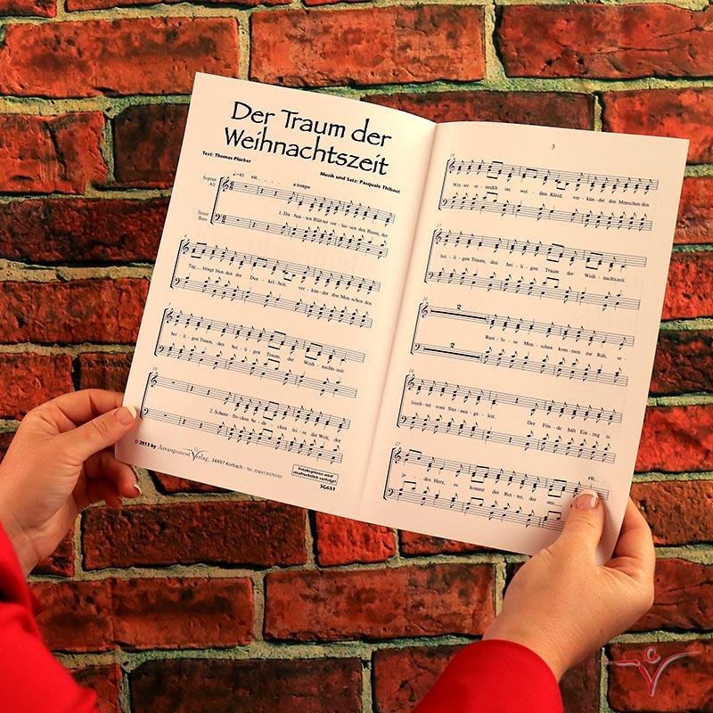 Chornoten: Der Traum der Weihnachtszeit (vierstimmig)