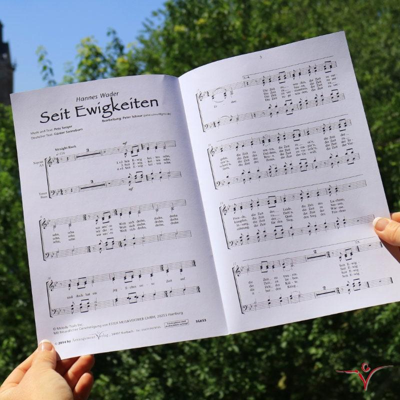 Chornoten: Seit Ewigkeiten (vierstimmig)