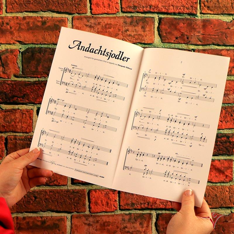 Chornoten: Andachtsjodler (vierstimmig)
