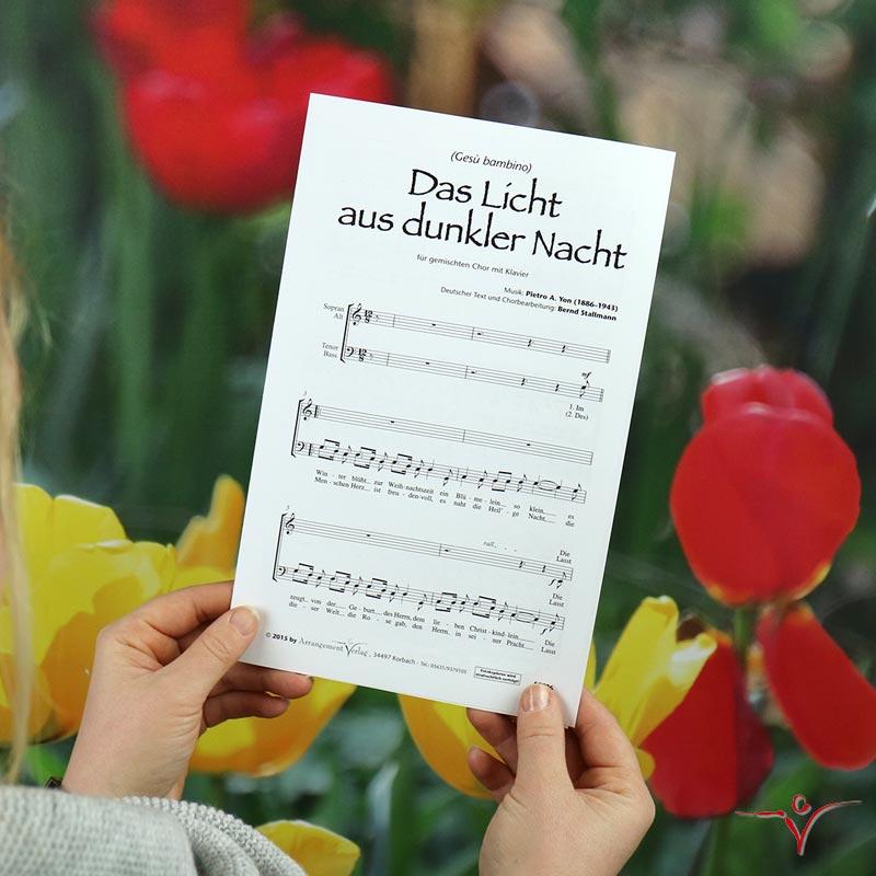Chornoten: Das Licht aus dunkler Nacht (vierstimmig)