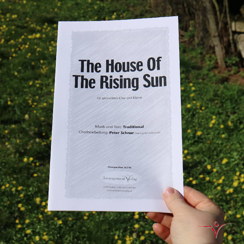 Chornoten: The House Of The Rising Sun (vierstimmig)