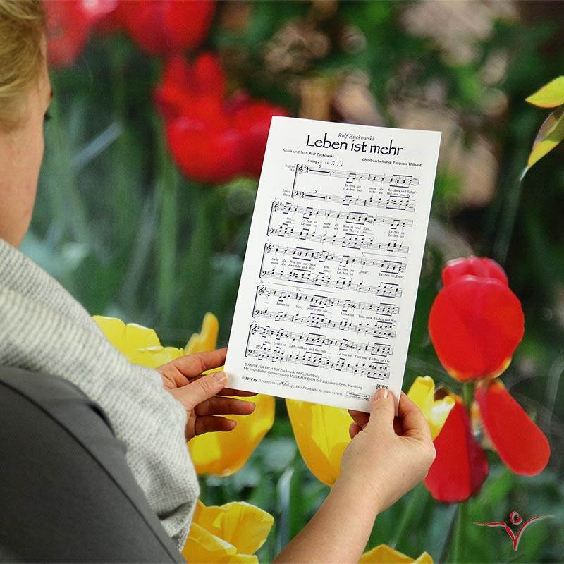 Chornoten: Leben ist mehr (vierstimmig)