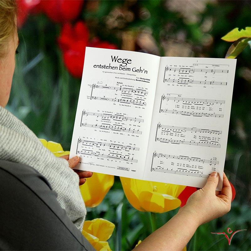 Chornoten: Wege entstehen beim Gehn (vierstimmig)