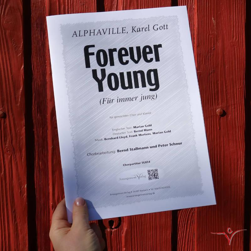 Chornoten: Forever Young (vierstimmig)