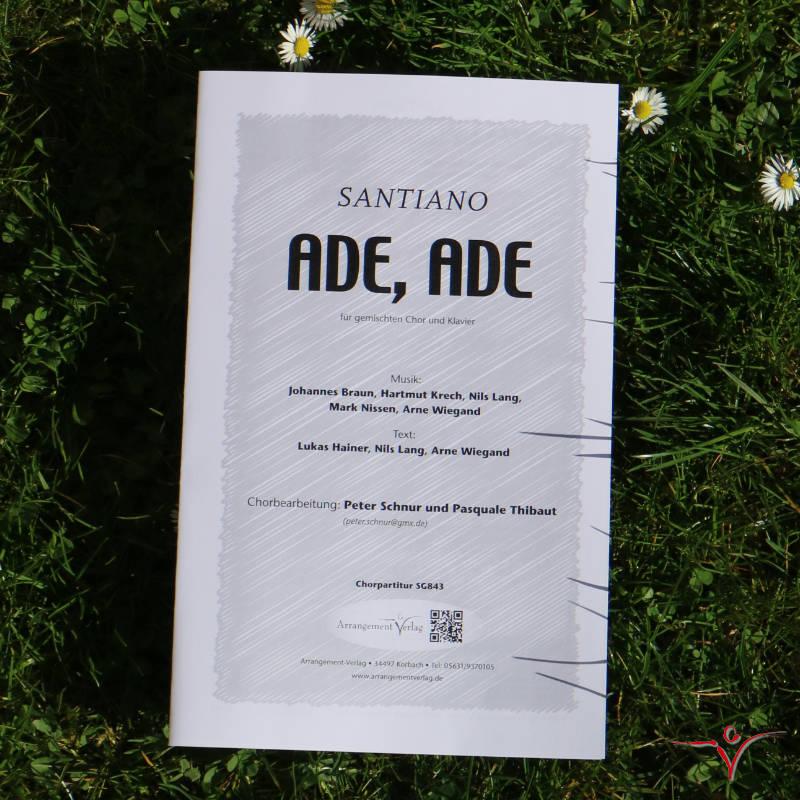 Chornoten: Ade, Ade (vierstimmig)