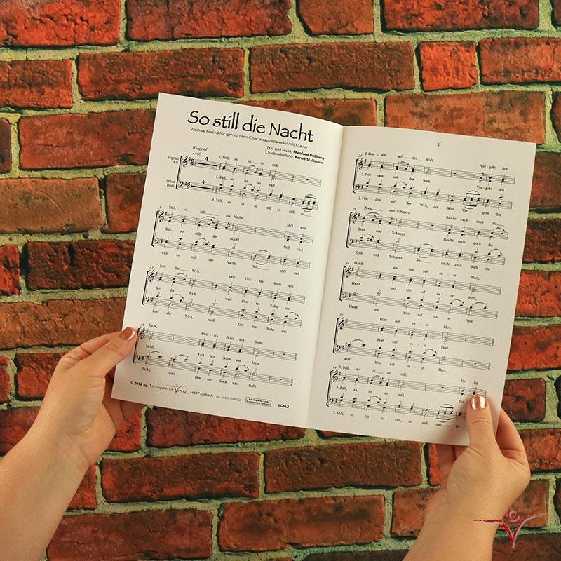 Chornoten: So still die Nacht (vierstimmig)