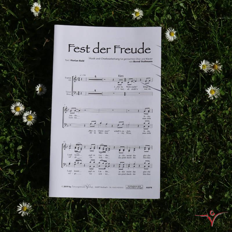 Chornoten: Fest der Freude (vierstimmig)
