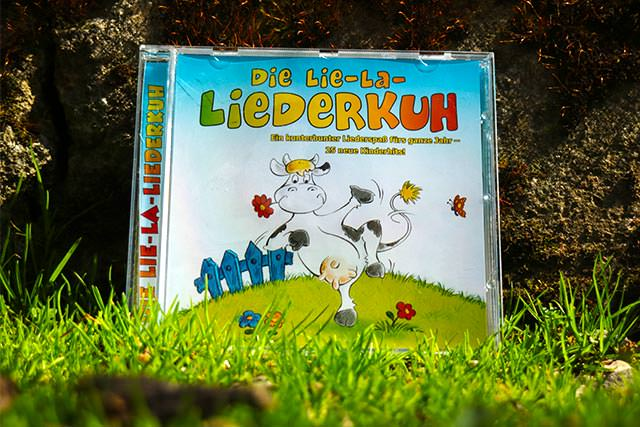 Lie-La-Liederkuh Playback-CD zum Mitsingen