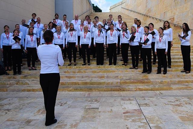 Chornoten für gemischten Chor
