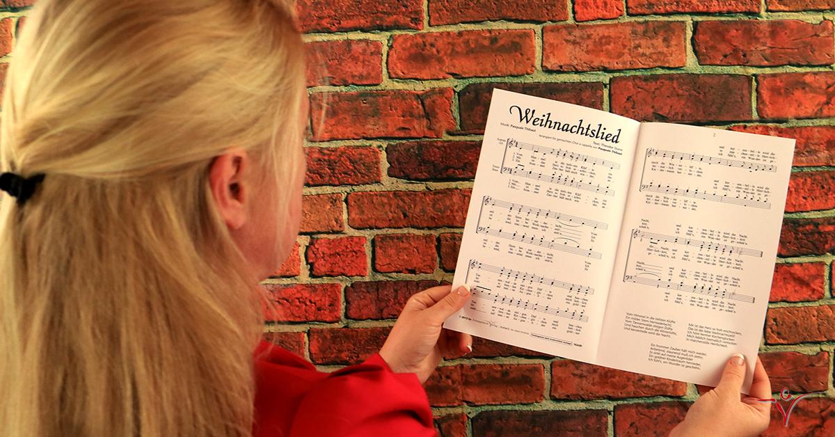 Chornoten: Weihnachtslied für gemischten Chor